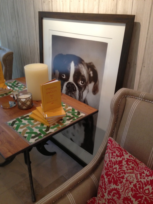 Book party for Kevin Calica, STRENGTH AND SIMPLICITY - in our Andrew Martin showroom, suite 101