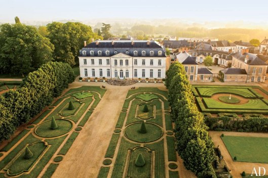 The chateau Timothy owns in France!