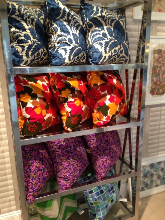 New pillows North See Vintage ANDREW MARTIN MP Interiors, Estero, FL